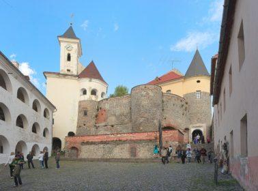 Замок Паланок туризм